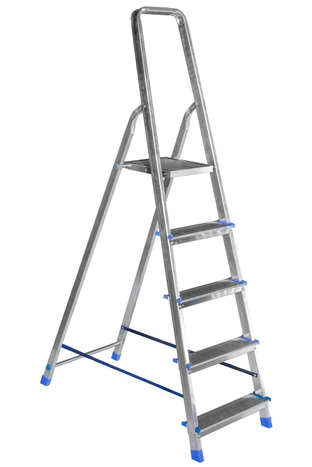 Стремянка с односторонним восхождением TARKO - Алюминиевые лестницы и стремянки в Минске - ООО Тапанар Трейд